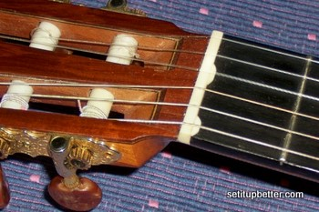 Roberto Acha Geronimo guitar with compensated nut